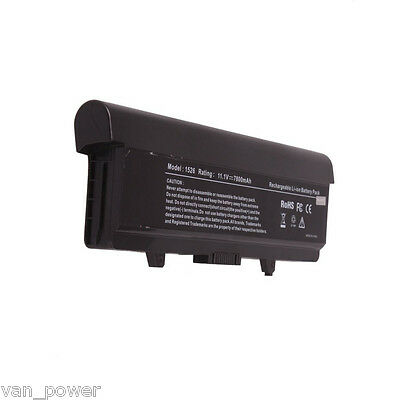 9 Cell 7800mAh Laptop Battery Pack for DELL Inspiron 1525 1526 1545 Computer