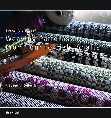 The Ashford Book of Weaving Patterns for 4 to 8 Shafts by Elsa Krogh ABWPFES