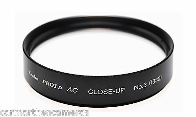 Kenko 55mm Close-up Lens No.3 Filter -Turn a normal lens into Macro one