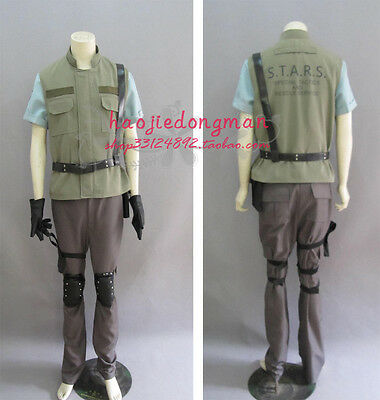 Resident Evil  Chris Redfield cosplay costume anime any size