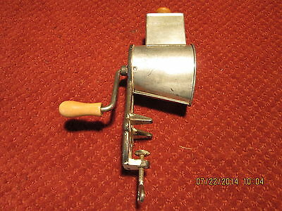 VINTAGE TABLE TOP CHEESE GRATER~VERY NICE~MADE IN SWEDEN
