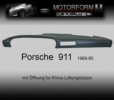 Porsche 911 930 -1985 Klima Armaturenbrett Cover Abdeckung dashboard dash cover