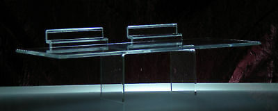 "4""x10"" Acrylic Slatwall Shelf"