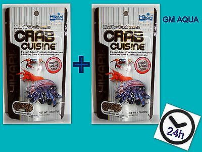 2 x Hikari Crab Cuisine 50g Lobster Crawfish Hermit Sinking Aquarium Food