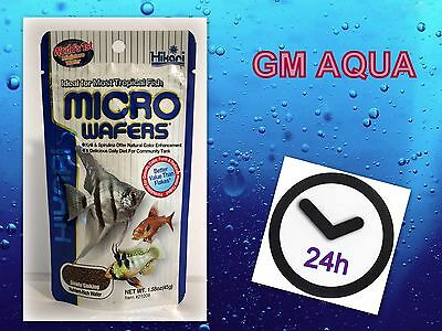 HIKARI TROPICAL MICRO WAFERS 45g CICHLID CATFISH MINI WAFER FISH TANK FOOD