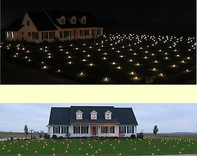 Christmas Lights Lawn Outdoor Yard Decoration White LED Illuminated 1520 sqft