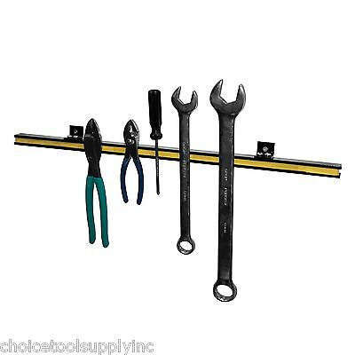 "24"" Magnetic Tool Holder Strip Kit Wall Mountable Includes Mounting Hardware"
