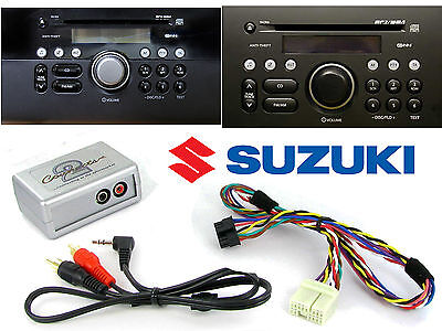 Suzuki AUX adapter lead 3.5mm jack MP3 CTVSZX001 for PACR05 PACR06 PACR07 PACR08
