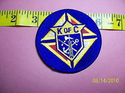 """KNIGHTS OF COLUMBUS - Sword Anchor Cross Embroidered Patch 2"""""""