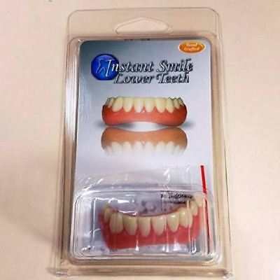 Instant Smile Teeth BOTTOM VENEERS Fake Cosmetic Dr Bailey's Dental Makeover NEW