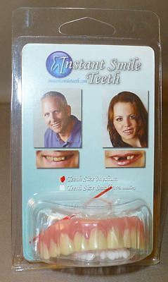 Instant Smile Teeth MEDIUM Top Veneers Fake Cosmetic Dr Bailey's Dental Makeover