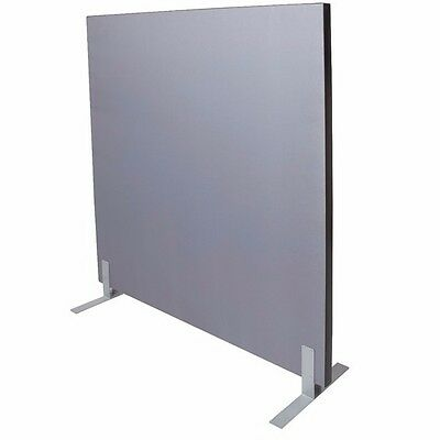 1800W x 1800H GREY Acoustic Screen Fabric Pinable 1818SCREEN - Perth