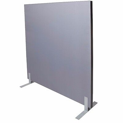 1800W x 1500H GREY Acoustic Screen Fabric Pinable 1815SCREEN - Perth