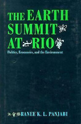 The Earth Summit At Rio: Politics, Economics, and the Environment