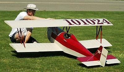 1/3 Scale Nosen Gere  Sport  Giant Scale RC Model AIrplane Prined Plans