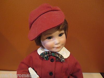 """""""RUDY"""" PORCELAIN  Doll from the Marie Osmond Collection~Sculptor Sonja Bryer"""