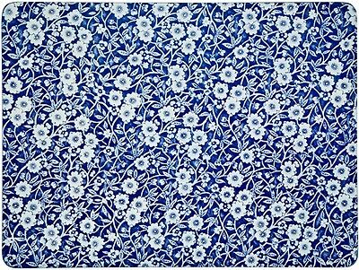 """BURLEIGH CALICO BLUE PLACEMATS (BOX OF 4) 12 x 9"""" - BRAND NEW"""