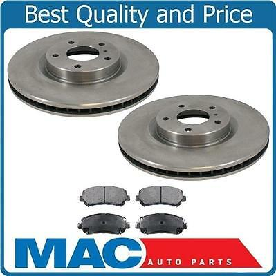 2001 2002 2003 Acura EL Canada Model OE Replacement Rotors w//Ceramic Pads F+R