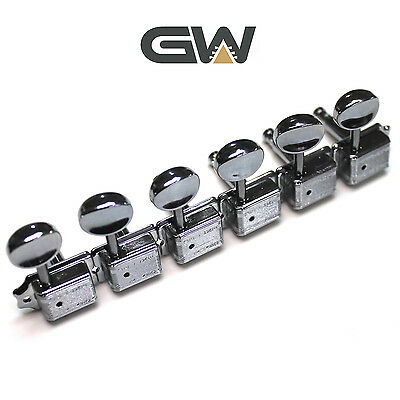 Wilkinson Deluxe Tuners/Machine Heads Chrome WJ55 EZ Lock