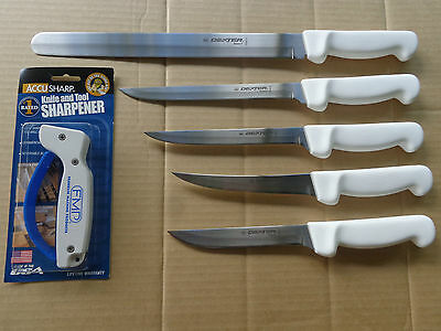 Dexter Russell 6 Pce Fishermans Knife Package Boat Set