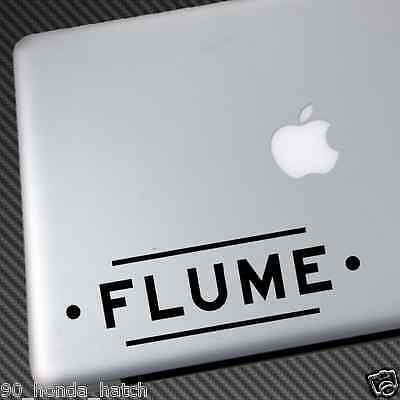 FLUME VINYL STICKER CAR DECAL what so not future classic cd shirt edm music