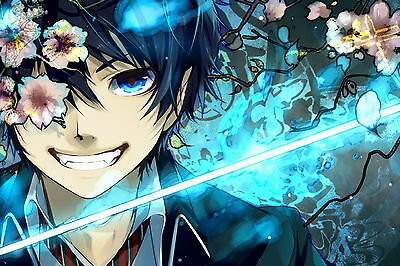 Ao No Blue Exorcist Japan Anime GIFT WALL DECOR ART PRINT POSTER A3 Size