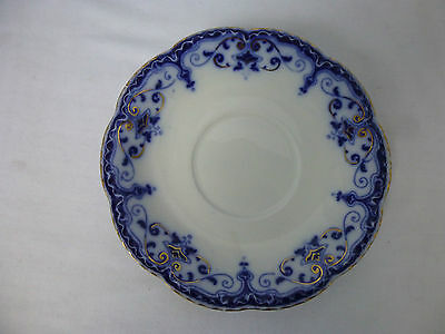Antique,c1913,Johnson Bros,JEWEL, Flow Blue, Large Saucer