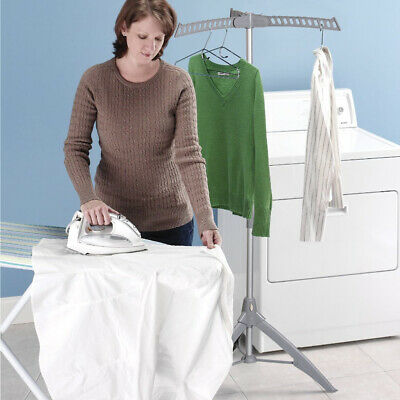 Portable Folding Multi Clothes Airer Stand Cloth Dryer Garment Hanger Coat Rack