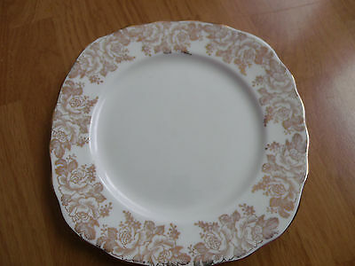 "Imperial Fine English China Plate 22KT Gold6 1/4"" Plate"