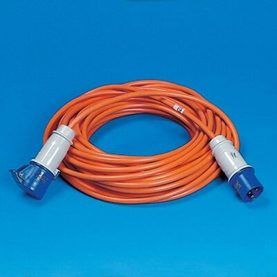 25m Metre Caravan Motorhome Hook Up Cable Lead - 2.5mm Thick Insulated Cable