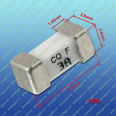 2Pcs Fuse SMD 1808 3A, fusible SMD 3A