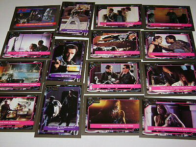 T2 - Terminator 2 trading cards