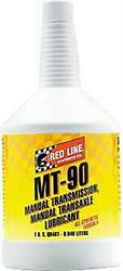 Red Line Oil Synthetic Manual Transmission Lubricant MT90 GL-4 75W90 (3 Quarts)