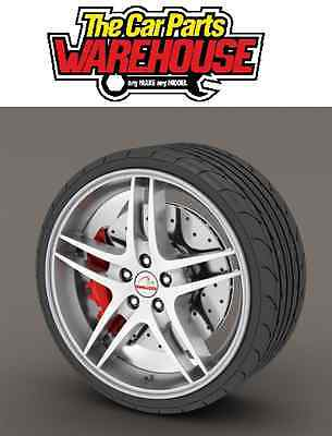"Rimblades Alloy Rim Protector Or Refurbisher Silver Upto 22"" Wheels * Ss5132"