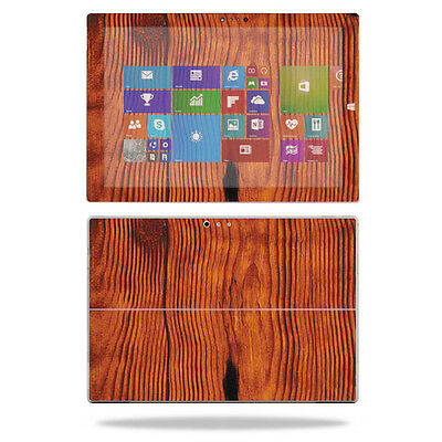 Skin Decal Wrap for Microsoft Surface Pro 3 Tablet sticker Knotty Wood