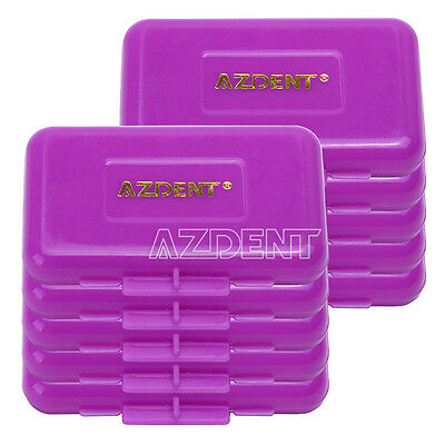 100 X Dental Orthodontics Wax For Braces Gum Irritation Purple-Grape AZDENT