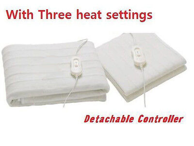 Single /double / King Size Controller Electric Washable Heated Under Blanket