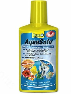 Tetra Aquasafe Tap Water Conditioner 100Ml- Royal Mail First Class Post