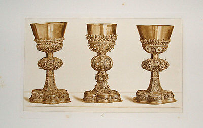 Gold-Schmied Silber Pokal Ziseleur Ornament orafo goldsmith Trinkbecher Kelch