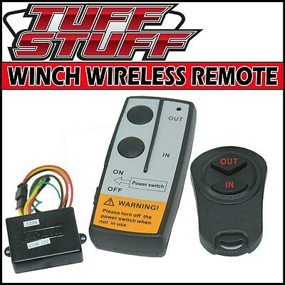 WIRELESS REMOTE CONTROL UNIVERSAL KIT FOR 12V ELECTRIC WINCH OR SOLENOID