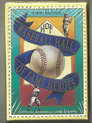 Baseball Hall of Fame Heroes 12-card Factory Sealed set  Lou Gehrig  Babe Ruth