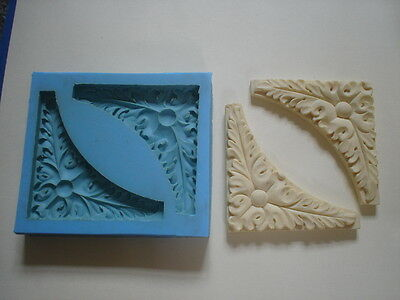 Silicone Rubber Mould Ornate Corner Mouldings  Diy Furniture Create