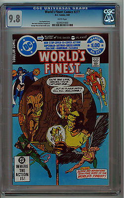 World's Finest #277 Cgc 9.8 White Pages Bronze Age