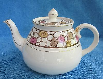 antique 1910s GIBSON & SONS Burslem small TEAPOT - Winston 1- 2 cups