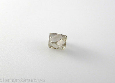 0.5 ct Clear Natural Uncut Rough Diamond for Wedding Engagement Ring
