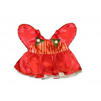 "TEDDY BEAR Costume CHRISTMAS FAIRY CLOTHES Fit 14""-18"" Build-a-bear !!NEW!!"