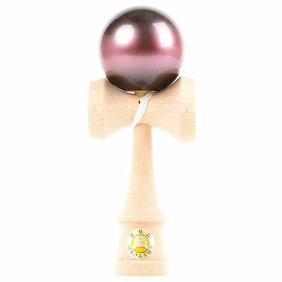 KENDAMA USA - CLASSIC WOODEN SKILL TOY - OZORA GALAXY - PINK