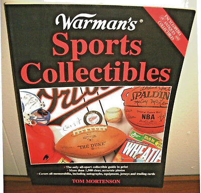 THE  WARMAN'S INCREDIBLY  PRICE GUIDE TO  SPORTS VINTAGE COLLECTIBLES