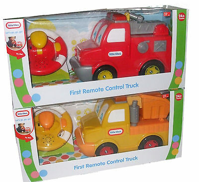 Little Tikes 1St Remote Control Truck Or Fire Engine Toy