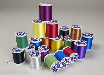 FUJI ULTRA POLY ROD WRAPPING THREAD, SIZE A, 100 Meter spool